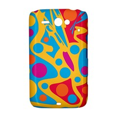 Colorful decor HTC ChaCha / HTC Status Hardshell Case