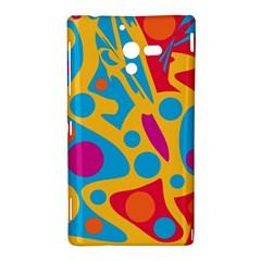 Colorful decor Sony Xperia ZL (L35H)