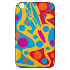 Colorful decor Samsung Galaxy Tab 3 (8 ) T3100 Hardshell Case