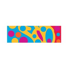 Colorful decor Satin Scarf (Oblong)