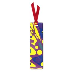 Deep blue and yellow decor Small Book Marks