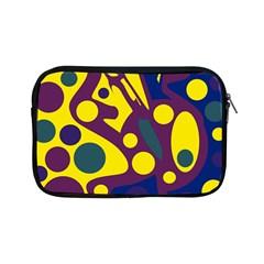 Deep blue and yellow decor Apple iPad Mini Zipper Cases