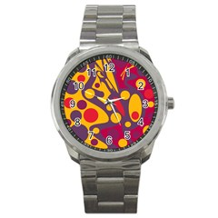 Colorful chaos Sport Metal Watch