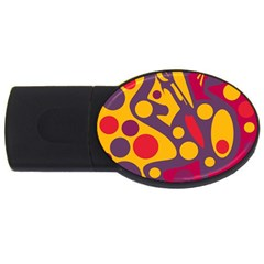 Colorful chaos USB Flash Drive Oval (4 GB)