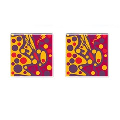 Colorful chaos Cufflinks (Square)