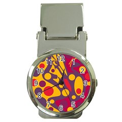 Colorful Chaos Money Clip Watches