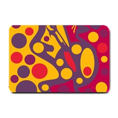 Colorful chaos Small Doormat