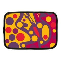 Colorful chaos Netbook Case (Medium)