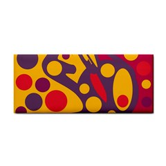 Colorful chaos Hand Towel
