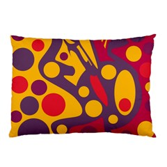 Colorful chaos Pillow Case