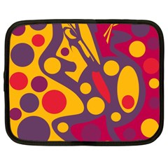 Colorful chaos Netbook Case (XXL)