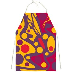 Colorful chaos Full Print Aprons