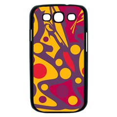 Colorful chaos Samsung Galaxy S III Case (Black)