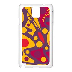Colorful chaos Samsung Galaxy Note 3 N9005 Case (White)