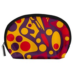 Colorful chaos Accessory Pouches (Large)