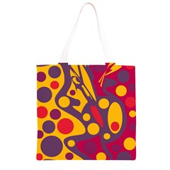 Colorful chaos Grocery Light Tote Bag