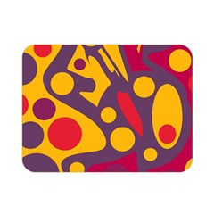 Colorful chaos Double Sided Flano Blanket (Mini)