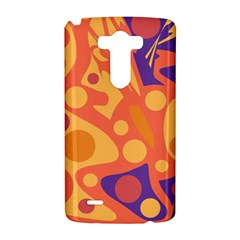 Orange and blue decor LG G3 Hardshell Case