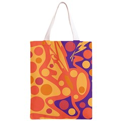 Orange and blue decor Classic Light Tote Bag