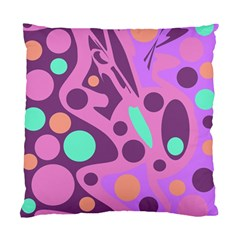 Purple and green decor Standard Cushion Case (One Side)