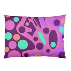 Purple and green decor Pillow Case