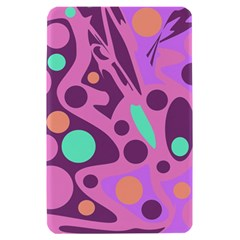 Purple and green decor Kindle Fire (1st Gen) Hardshell Case