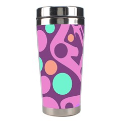 Purple and green decor Stainless Steel Travel Tumblers