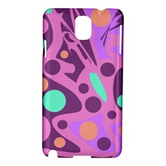 Purple and green decor Samsung Galaxy Note 3 N9005 Hardshell Case