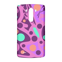Purple and green decor LG G3 Back Case