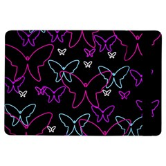 Purple butterflies pattern iPad Air Flip