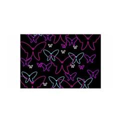 Purple butterflies pattern Satin Wrap