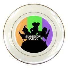Sanderson Sisters  Porcelain Plates
