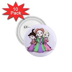 Hocus Pocus Plush 1.75  Buttons (10 pack)