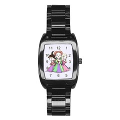 Hocus Pocus Plush Stainless Steel Barrel Watch