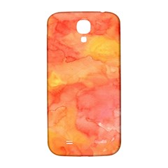 Watercolor Yellow Fall Autumn Real Paint Texture Artists Samsung Galaxy S4 I9500/I9505  Hardshell Back Case