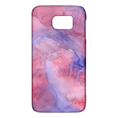 Galaxy Cotton Candy Pink And Blue Watercolor  Galaxy S6