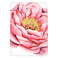 Large Flower Floral Pink Girly Graphic Flap Covers (L)