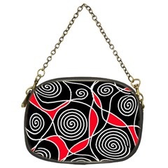Hypnotic design Chain Purses (Two Sides)