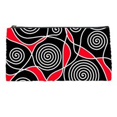 Hypnotic design Pencil Cases