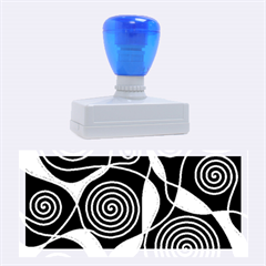 Hypnotic design Rubber Stamps (Large)