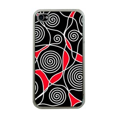 Hypnotic design Apple iPhone 4 Case (Clear)
