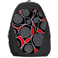 Hypnotic design Backpack Bag