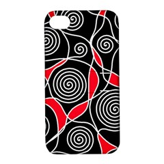 Hypnotic design Apple iPhone 4/4S Hardshell Case with Stand