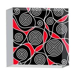 Hypnotic design 5  x 5  Acrylic Photo Blocks