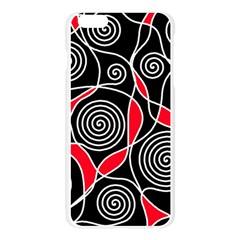Hypnotic design Apple Seamless iPhone 6 Plus/6S Plus Case (Transparent)