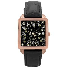 My soul Rose Gold Leather Watch