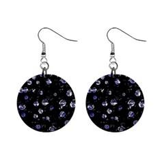 Blue soul Mini Button Earrings