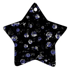 Blue soul Star Ornament (Two Sides)