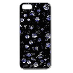 Blue soul Apple Seamless iPhone 5 Case (Clear)