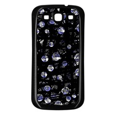 Blue soul Samsung Galaxy S3 Back Case (Black)